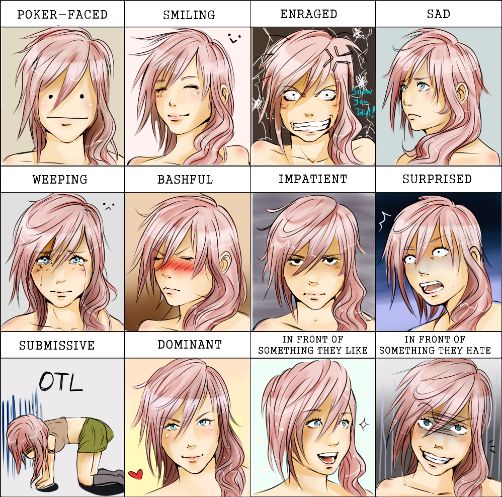 Expression Meme Lightning by Owlteria