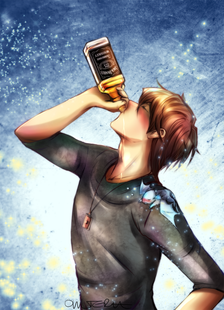 Jack Daniels down in one by Owlteria