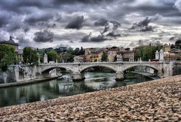 Bridge of Rome - hdr - by MissYDeb