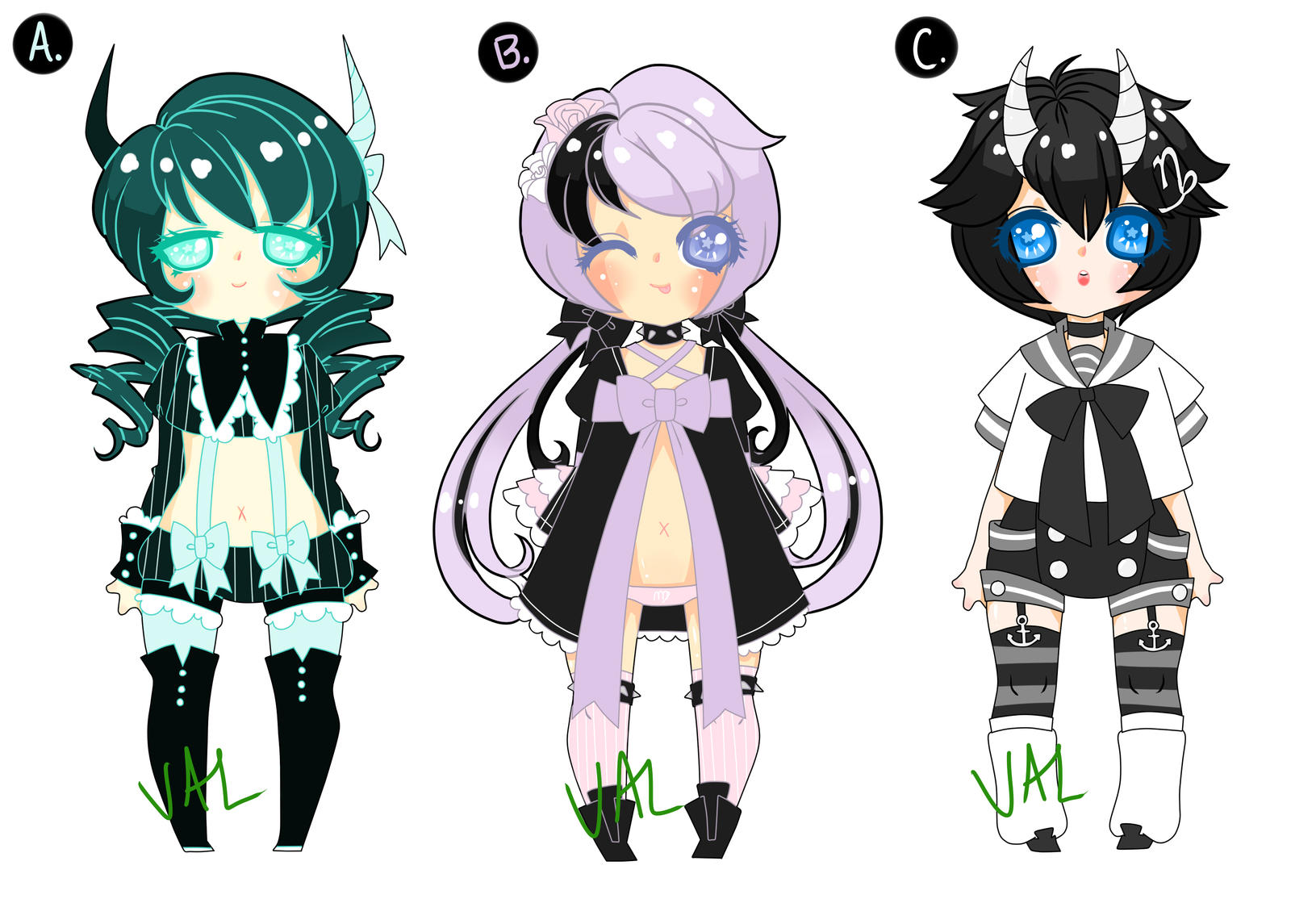 .earthy zodiacal adopts. .auction. .CLOSED. by lifeforce10