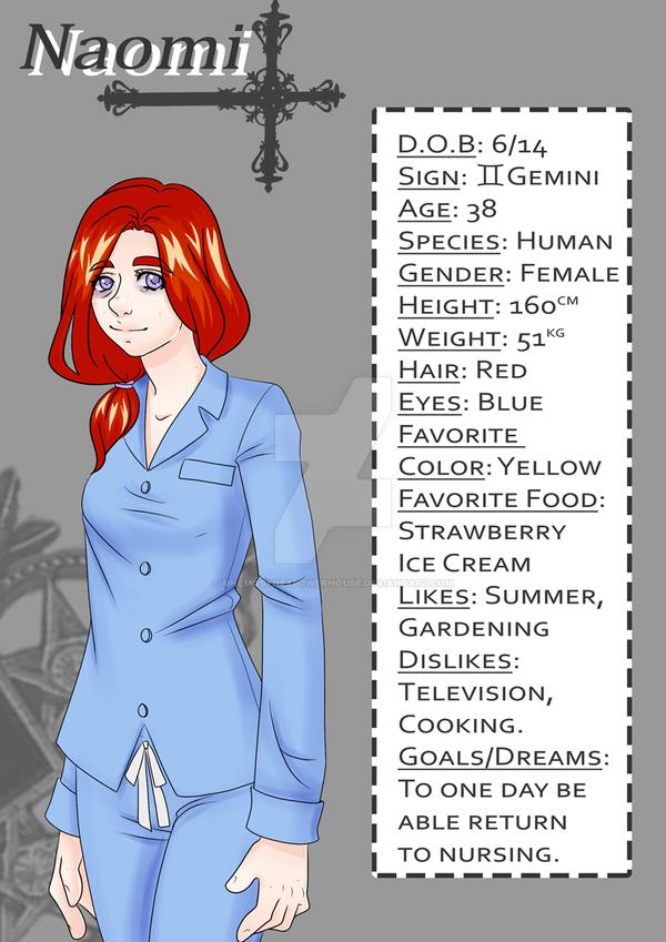 Profile: Naomi by lifeforce10