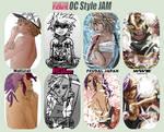 OC Style Jam by honeyOdew