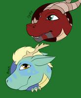 Elemental Dragons WIP