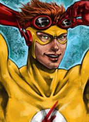 Kid Flash by W-uu