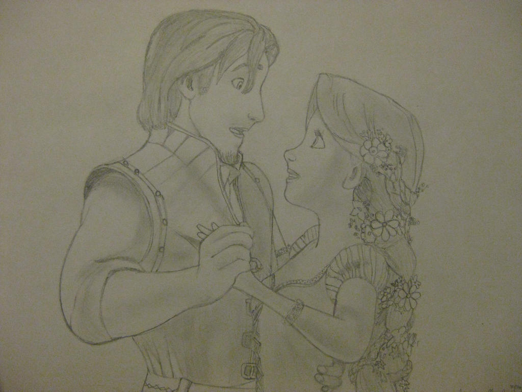 Flynn and Rapunzel- Kingdom Dance by phantomsgirl3 on DeviantArt for tangled rapunzel and flynn drawing  153tgx