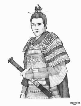 Prince Jing - Sketch 01