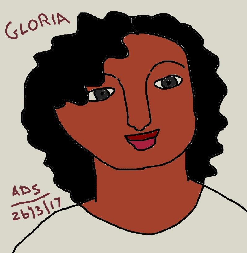 Gloria drawing by adrian154