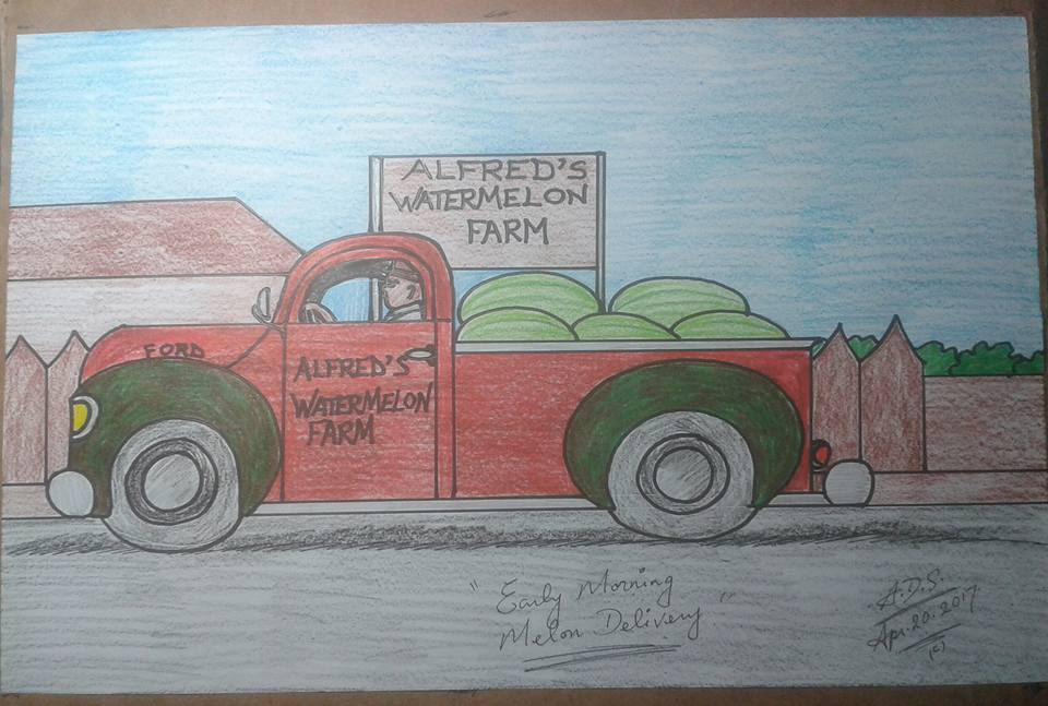 Early morning melon delivery by adrian154