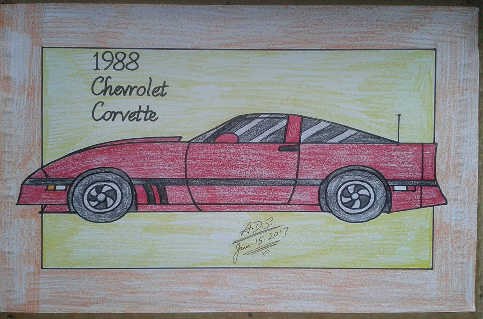 1988 Chevrolet Corvette C4 by adrian154