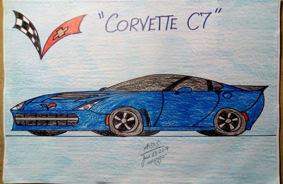Chevy Corvette C7 by adrian154