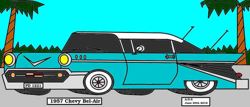 1957 Chevy Bel-Air by adrian154
