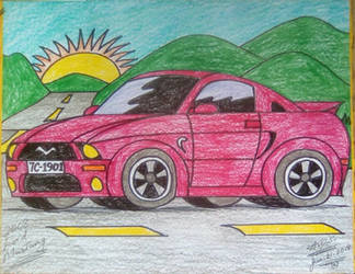 2008 Ford Mustang by adrian154