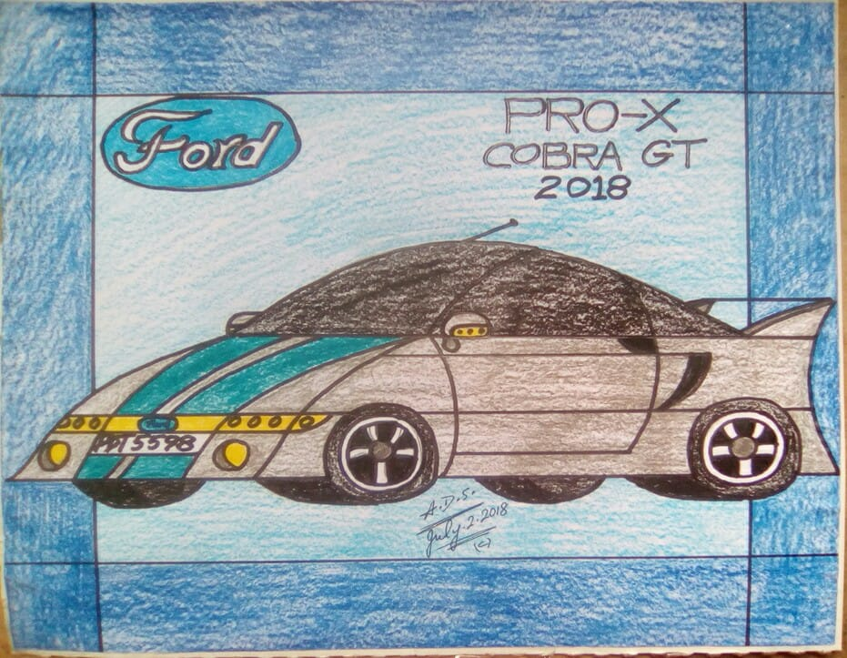 Ford Pro-X Cobra GT 2018 by adrian154