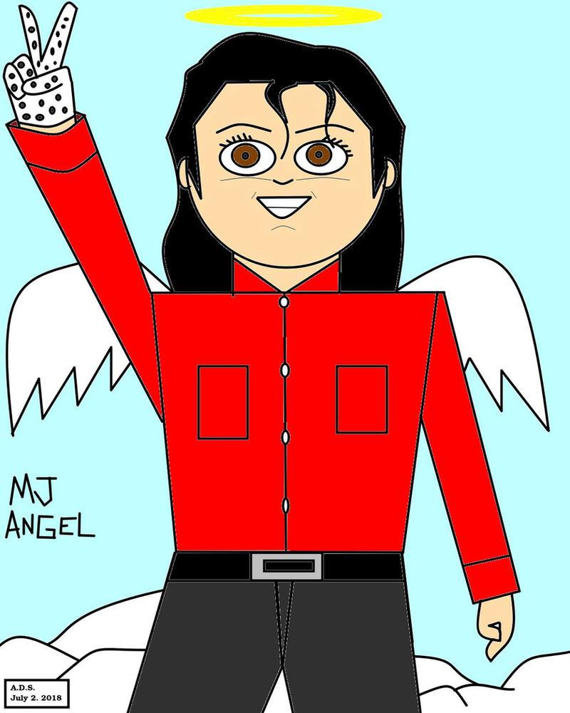 MJ Angel by adrian154