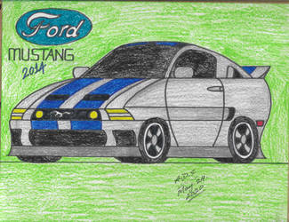 2014 Ford Mustang by adrian154