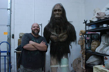 Bigfoot Mask (Torso is the Mask) by EscapeDesignFX