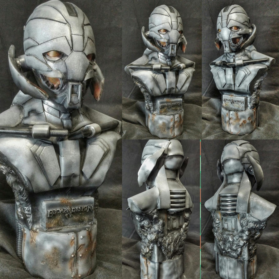 Ultron Bust 18 inches tall by EscapeDesignFX
