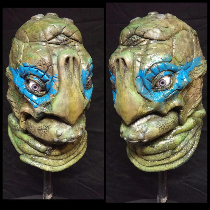 Teenage Mutant Ninja Turle Mask: Leo by EscapeDesignFX