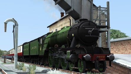 Flying Scotsman by Primon4723