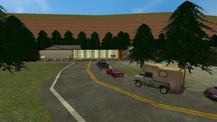 Railroad Crossing Scene 4