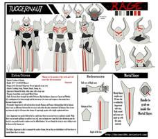 RWBY Grimm OC: Juggernaut Ref