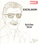 EXCELSIOR! For Stan Lee