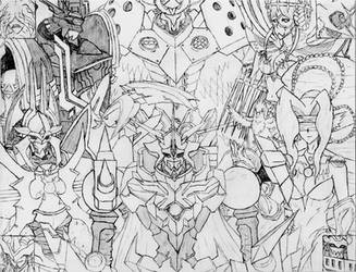 One Powerful Team by Omnimon1996