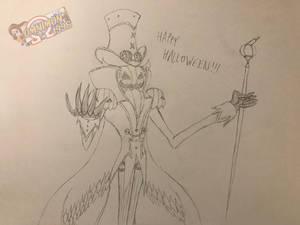 Happy Halloween! From Noble Pumpkinmon
