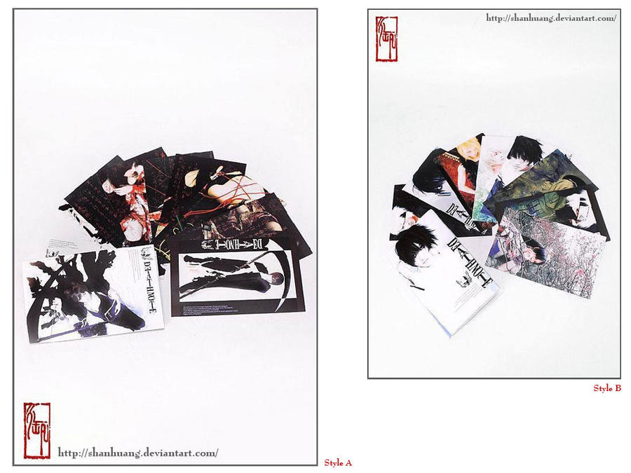 HS's cos postcards' on sale by ShanHuang