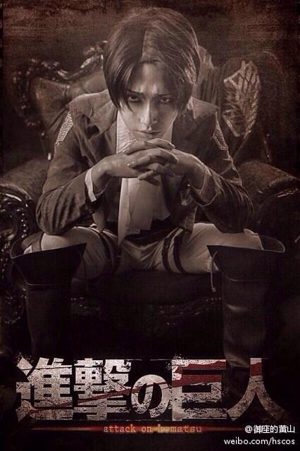 Attack On Titan Levi.Ackerman by ShanHuang