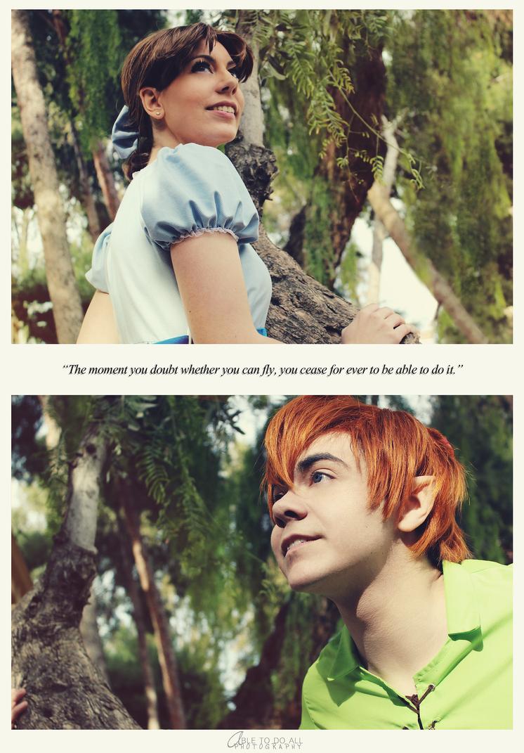 Peter Pan: We can fly by KuroKyuk