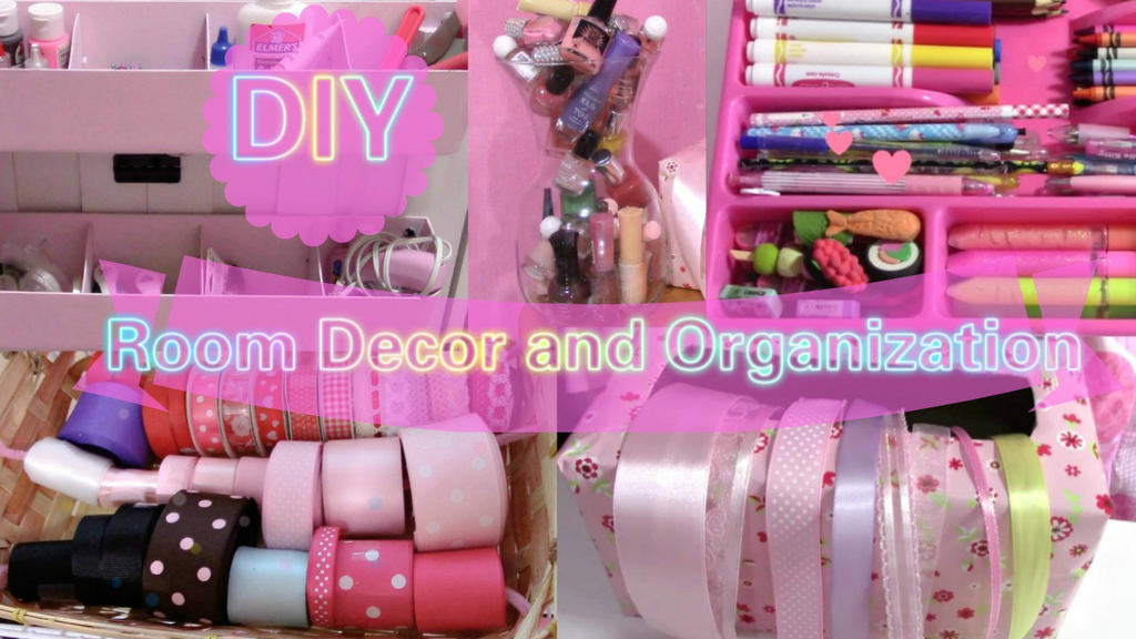 Diy Room Decor And Organization By Yumiking On Deviantart
