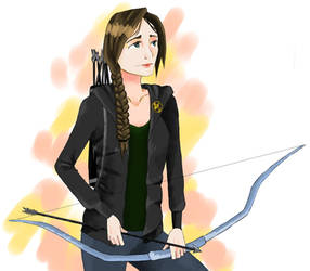 Katniss Everdeen by RitsuTainaka13