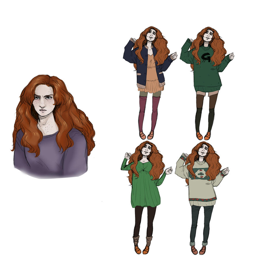 Ginny Weasley by FruitConflate