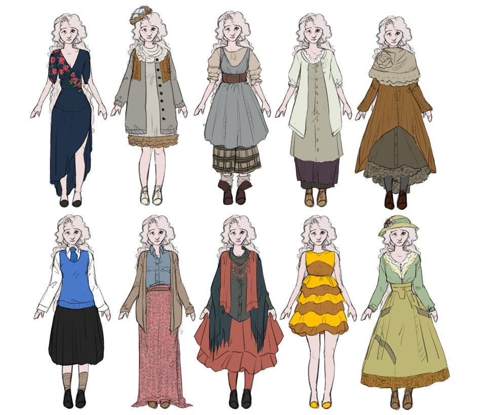 Luna Lovegood Outfits by FruitConflate on DeviantArt