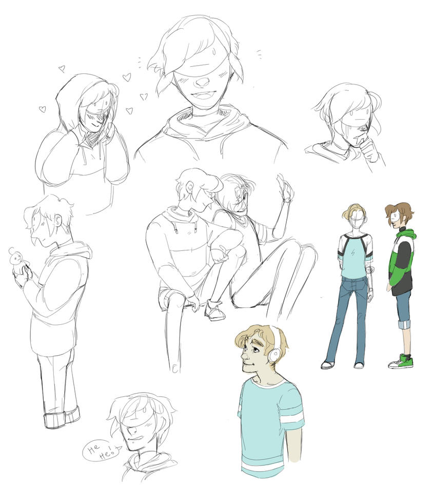 Many doodles of Cry by FruitConflate