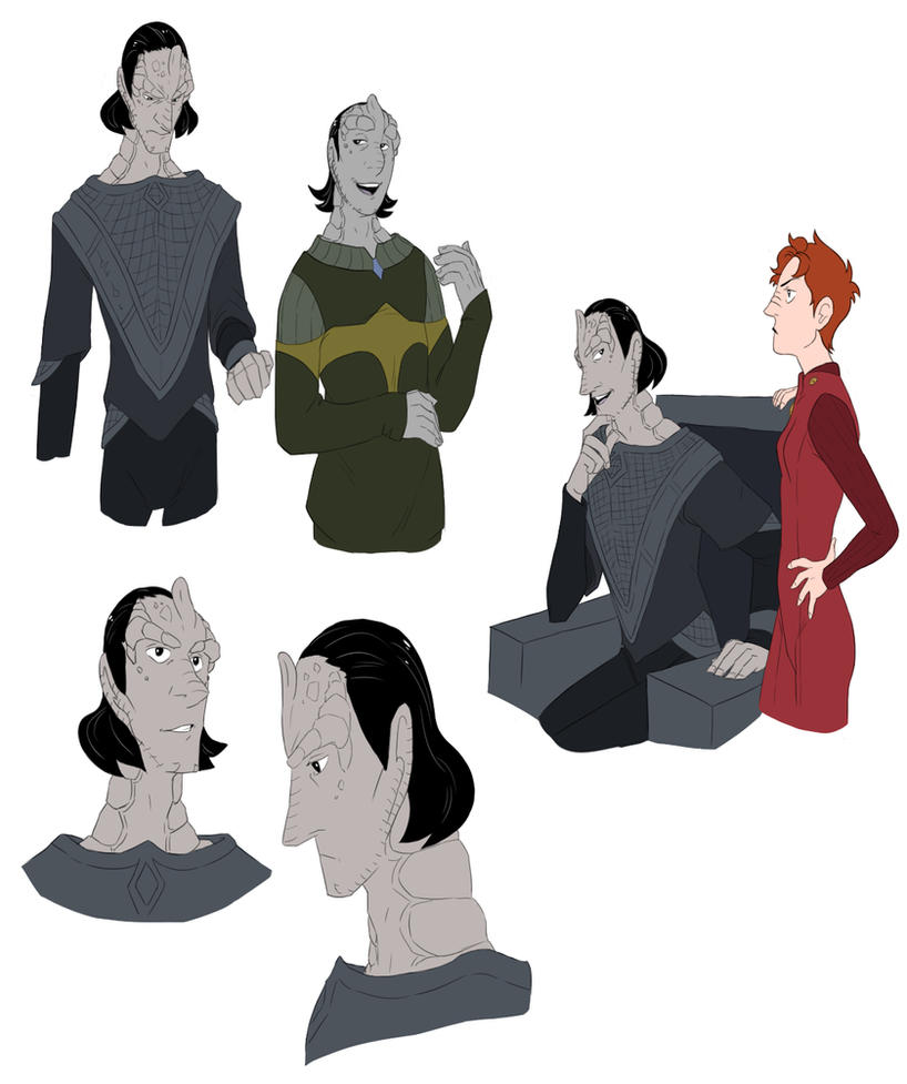 DS9 Doodles by FruitConflate