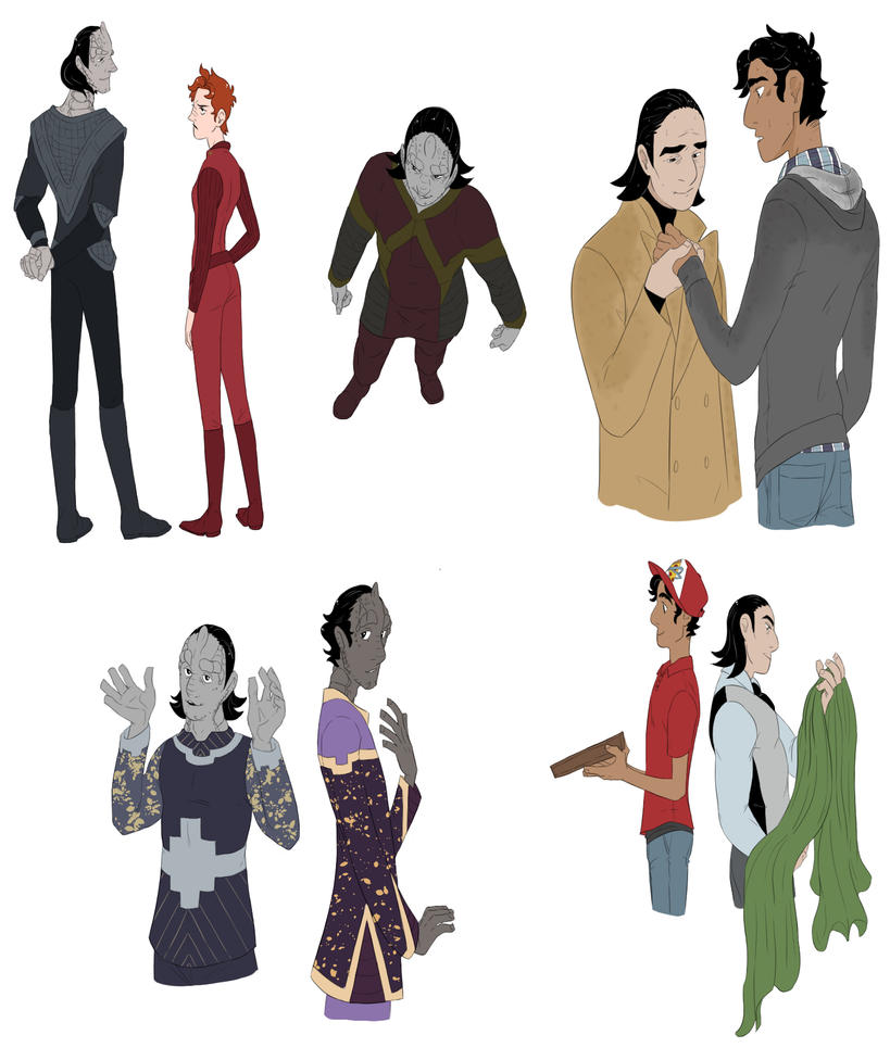 DS9 Doodles 2 by FruitConflate