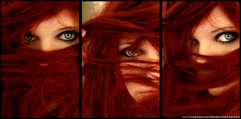 Красивые рыжие девушки. Необычные фото Эрика Йоханссона. Каким он