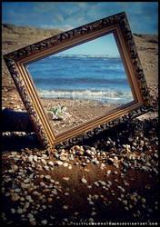 Ocean Mirror by littlemewhatever
