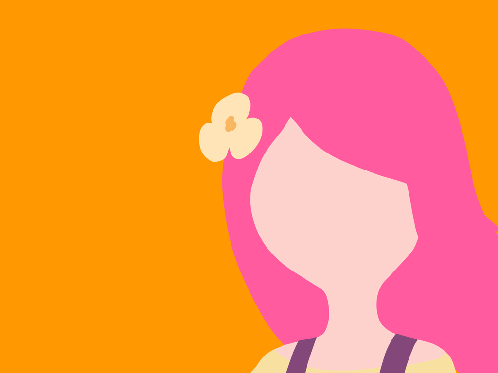 Princess Bubblegum Minimalist by BananaFan212