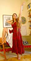 Medieval dress 9