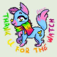 Flurry the Fox_ THANK U FOR WATCH by TobiMilobi