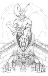 Angel of Shadow - Pencils