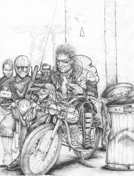 Cyberpunk Street Gang