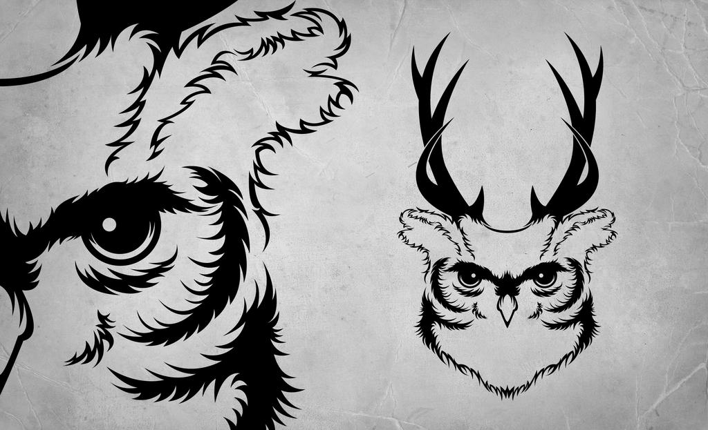 Owl Tattoo by ipiilvesart