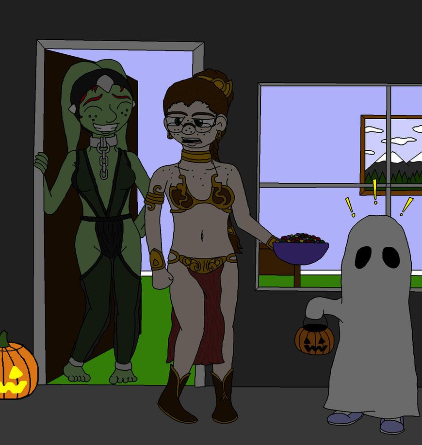 Halloween 2014 by Achast