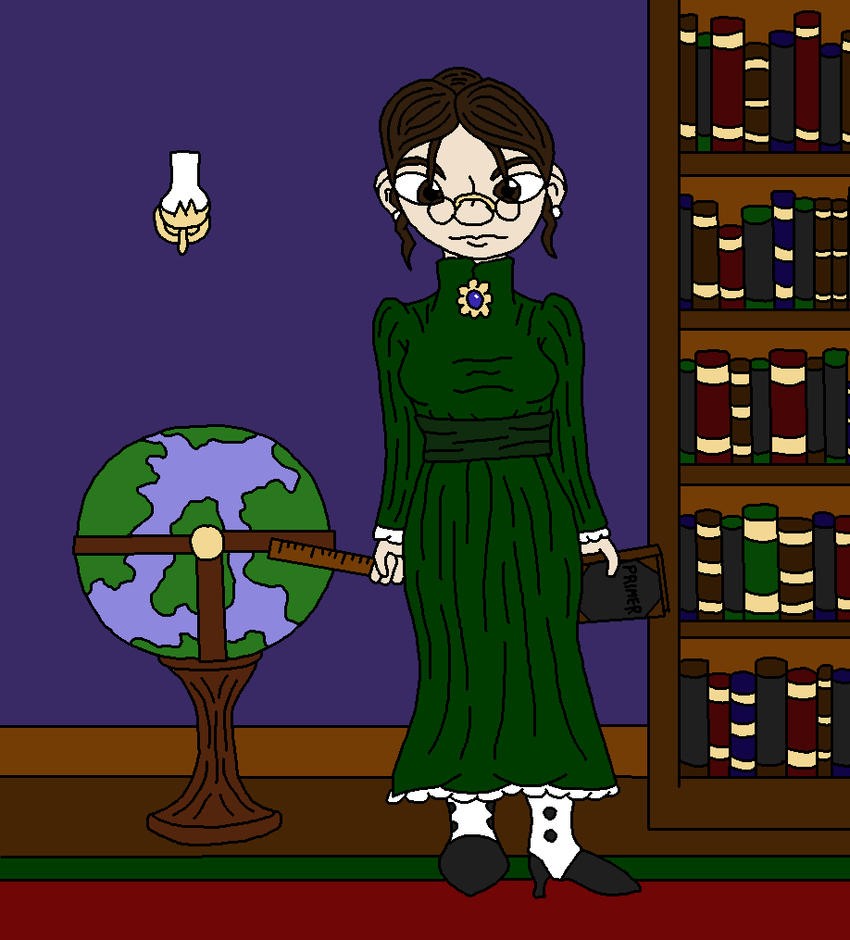 Didnapper OC Contest Entry: The Governess by Achast