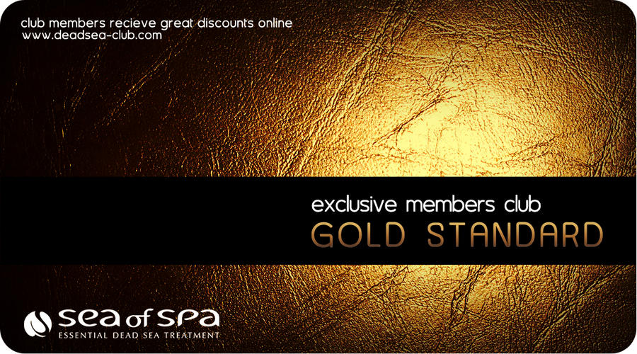 Gold Card Design by MissNasuta
