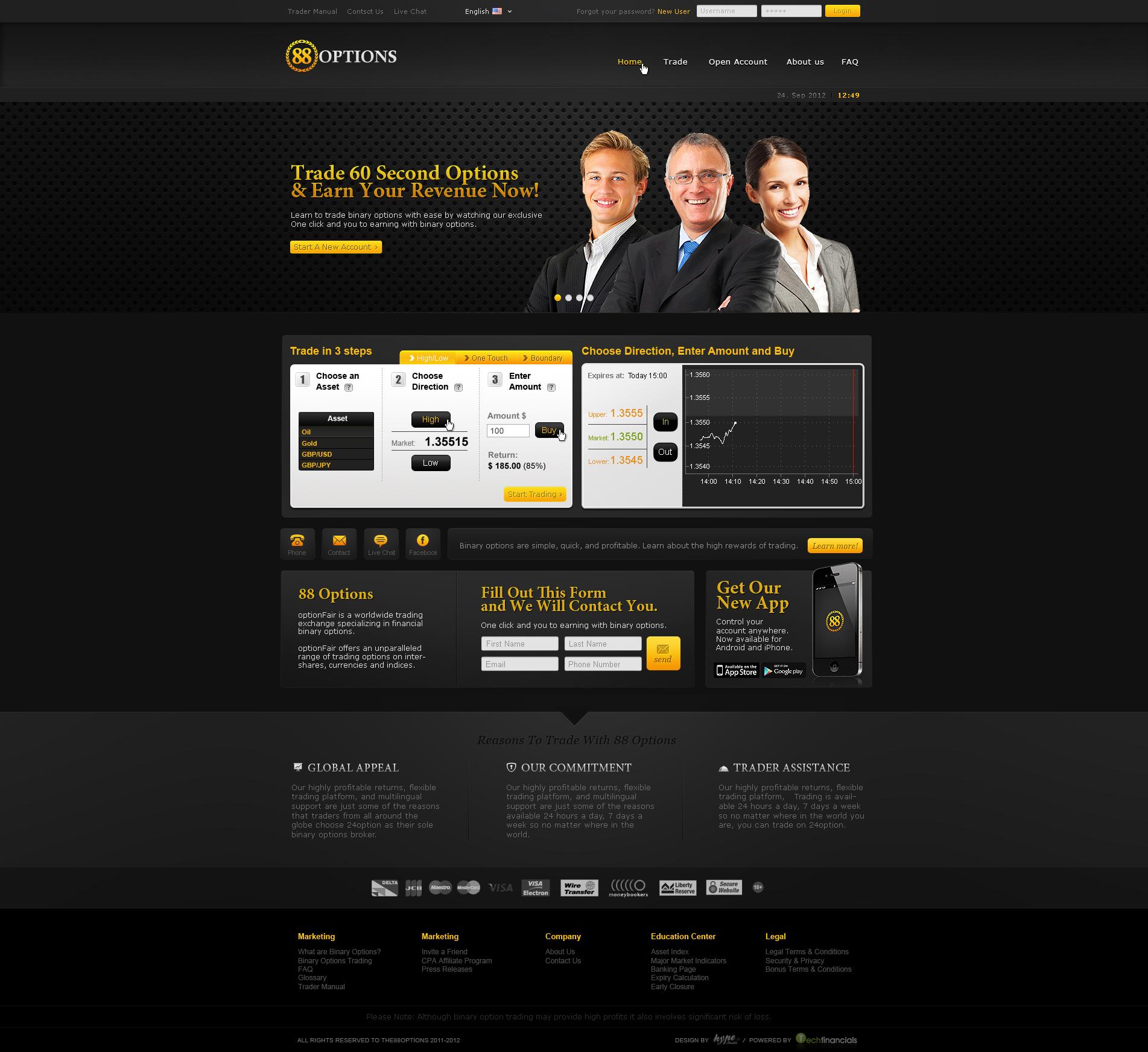 Forex web